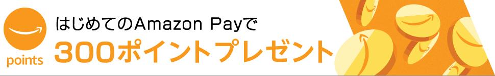 はじめてのAmazon Payご利用でD刊に登録するとAmazon 300ポイントをプレゼント!