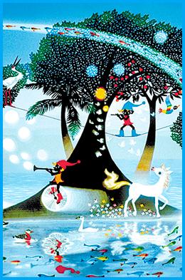 藤城清治 光の世界メルヘン展 画像