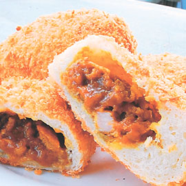 焼きカレーパン【宮崎地頭鶏】画像
