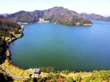 空から見た三方五湖、厳選50枚ジオラマ風に ドローン写真展