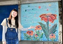 街並み彩ろう!アート実演へ 空き店舗シャッター活用、高校生が絵 敦賀で1日、市民有志がプロジェクト始動