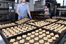 豆らくがん「福」たっぷり 福井県敦賀市で製造ピーク