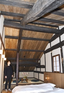 新たな息吹 若狭町熊川 古民家宿2棟目が完成、温かみある空間に 14日オープン、予約開始
