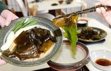 しゃぶしゃぶ、天ぷら 若狭わかめ召し上がれ 小浜「濱の四季」 13日から定食提供