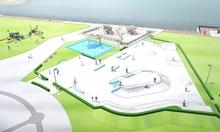 嶺南のスポレク施設充実に着手 小浜とおおいで都市型スポーツ施設整備や遊具更新