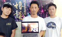 創作花火の迫力の舞台裏、臨場感楽しんで 高浜「櫓龍」が動画制作、25日公開
