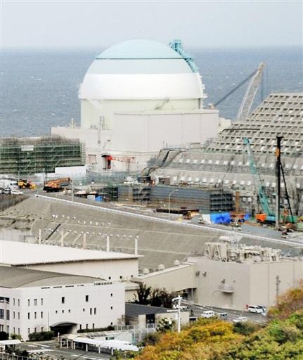 四国電力伊方原発3号機=10月27日午後、愛媛県伊方町