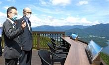 福井、石川の両知事懇談 広域観光で連携 誘客向け具体的提案も