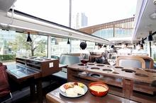 ツアー前にレストランバスお披露目 福井県嶺南の観光名所巡り若狭路の食材堪能
