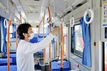 敦賀のコミュバスが抗ウイルス加工 9月にかけて計24台