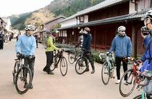 観光しながら鯖街道を自転車旅 小浜~京都、コース化可能性探る