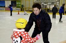 スケーター本田武史さん敦賀で教室