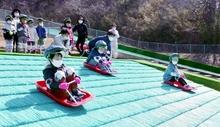人工芝ゲレンデ24年ぶり全面改修 福井県の敦賀市総合運動公園、4月オープン